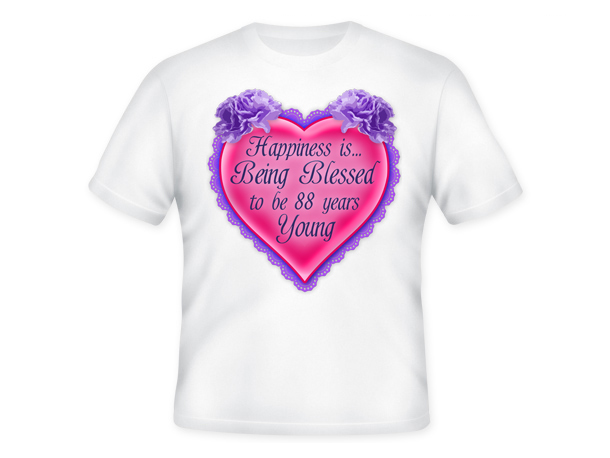 Age is a Blessing™ T-Shirt - 88 Years Young