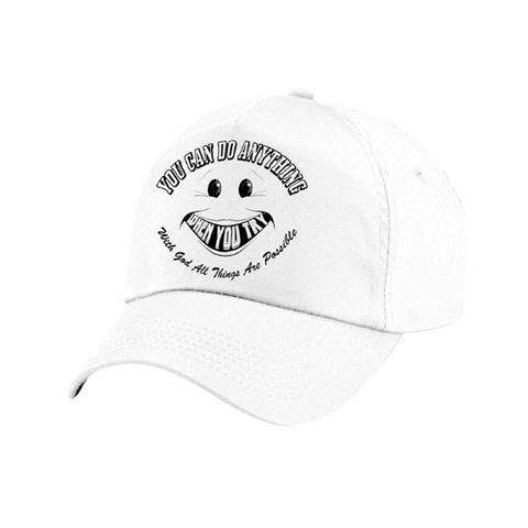 You Can Do Anything When You Try® -- Baseball Cap -- With God